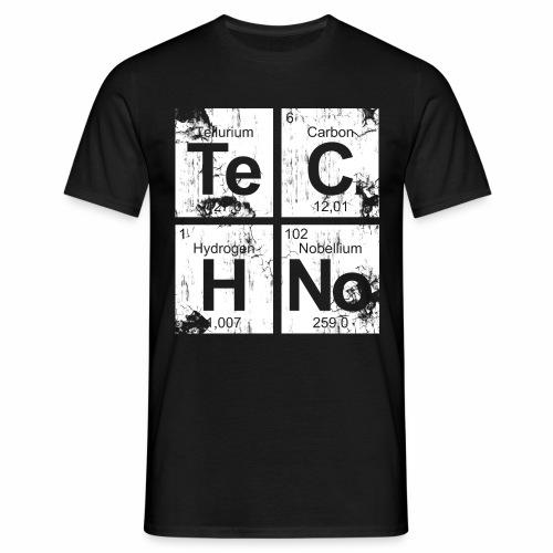 Techno Broken Elements - T-Shirt - Männer T-Shirt