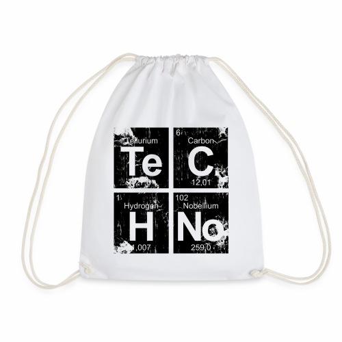 Techno Broken Elements - Turnbeutel - Turnbeutel