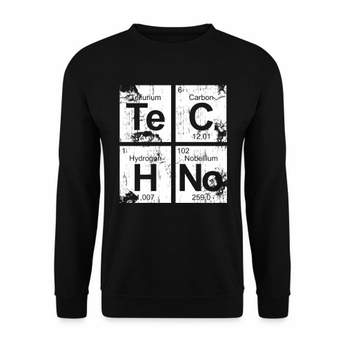 Techno Broken Elements - Pullover - Männer Pullover