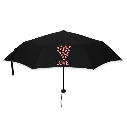 Regenschirm: Love Hearts - Regenschirm (klein)
