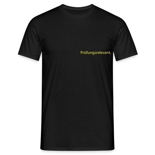 Ich bin wichtig - Männer T-Shirt