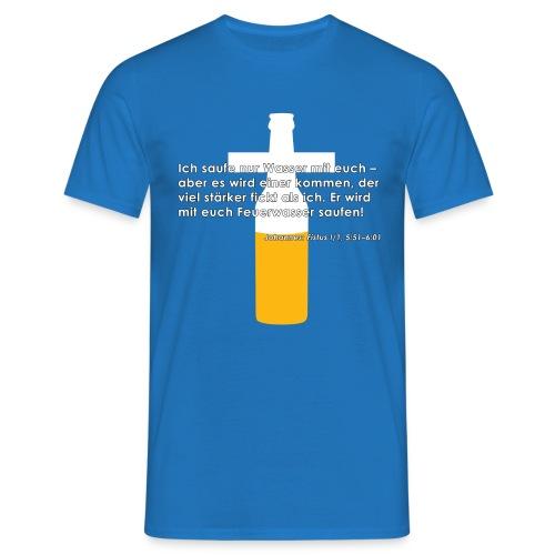 Fistus Zitat Johannes Shirt - Männer T-Shirt