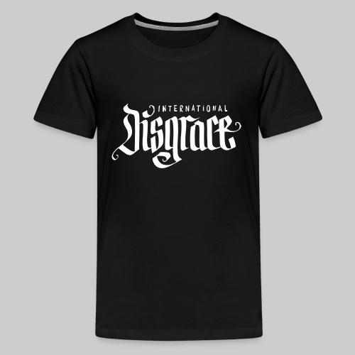 kids international disgrace - Teenager Premium T-Shirt