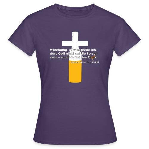 Fistus Zitate Spastus Damen-Shirt - Frauen T-Shirt