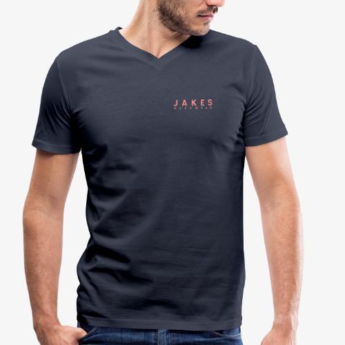 JAKES BASIC - Økologisk Stanley & Stella T-shirt med V-udskæring til herrer