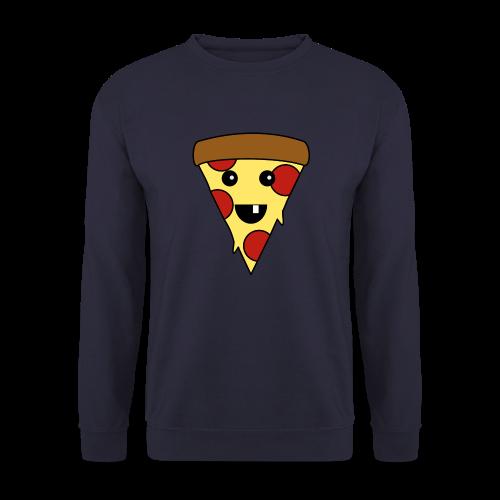 Fröhliche Pizza Pullover - Männer Pullover
