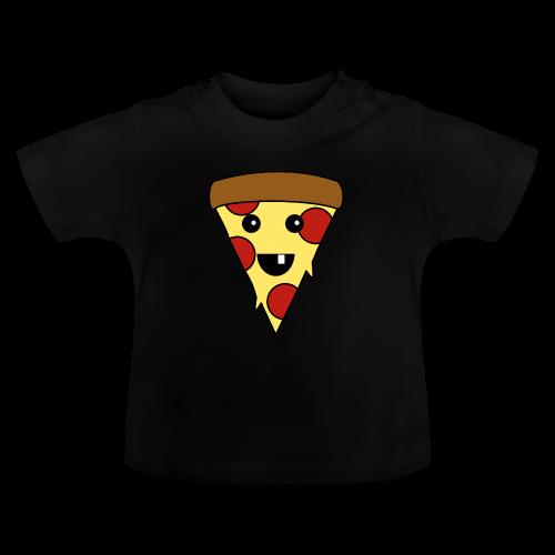 Fröhliche Pizza Baby T-Shirt - Baby T-Shirt