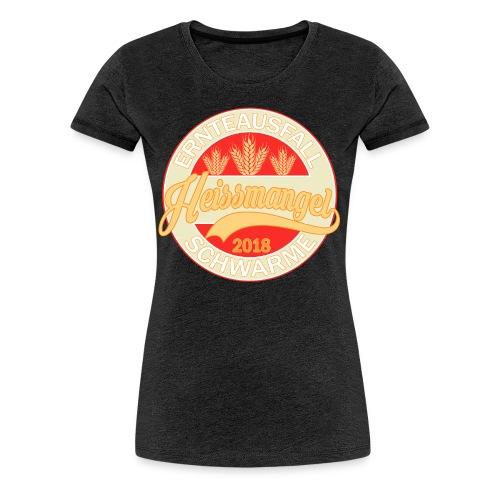 Ernteausfall 2018 Girlie - Frauen Premium T-Shirt