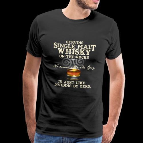Whisky-T-Shirt Single Malt Whisky - Men's Premium T-Shirt