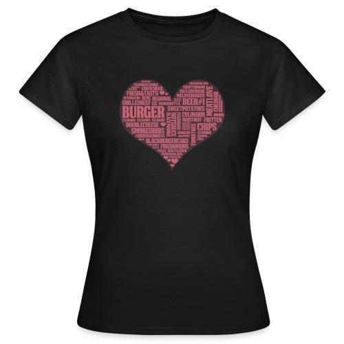 Herz Frauen T-Shirt - Frauen T-Shirt