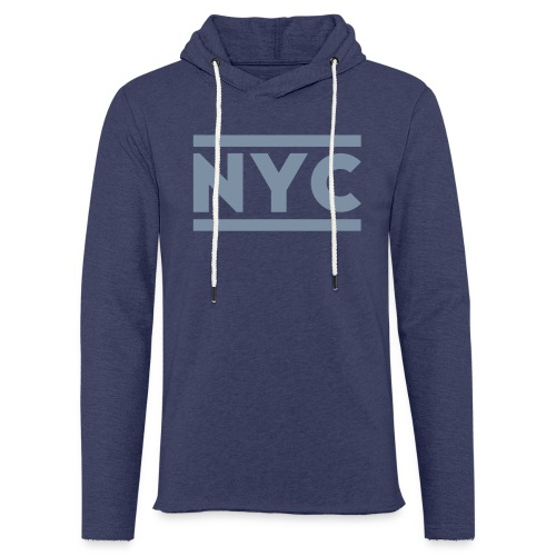 NYC SweatShirt Unisex - Sudadera ligera unisex con capucha