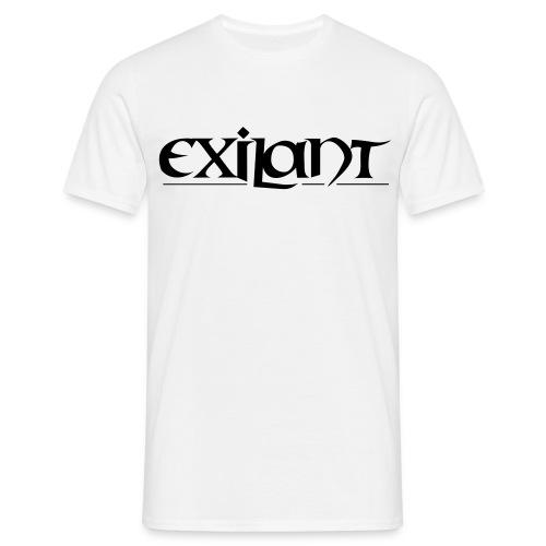 Exilant One [Prakx Exil] white  - Männer T-Shirt