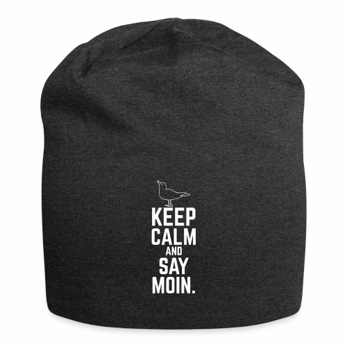 Keep Calm And Say Moin. - Jersey-Beanie
