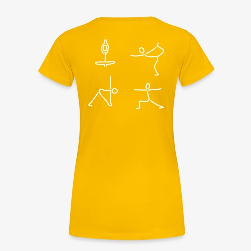 iYpsilon T Shirt Yoga Group - Frauen Premium T-Shirt