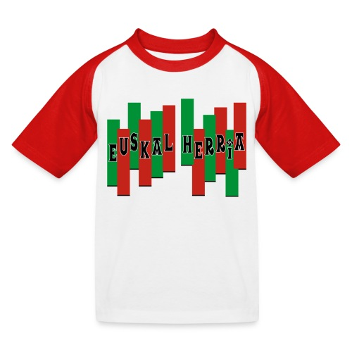 Pays Basque - T-shirt baseball Enfant