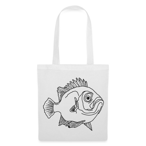 Fische Barsche Ozean Meerwasser Aquarium Angeln - Stoffbeutel