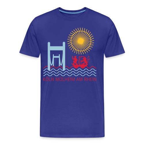 Männer Muelheim am Rhein Sonne  - Männer Premium T-Shirt