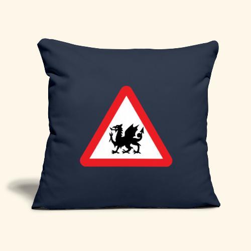Welsh cushion - Sofa pillow cover 44 x 44 cm