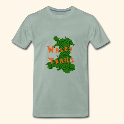 Wales Trails - Men's Premium T-Shirt
