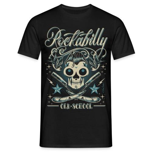 Old School Skull - Camiseta hombre