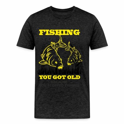 Restez jeune - T-shirt Premium Homme