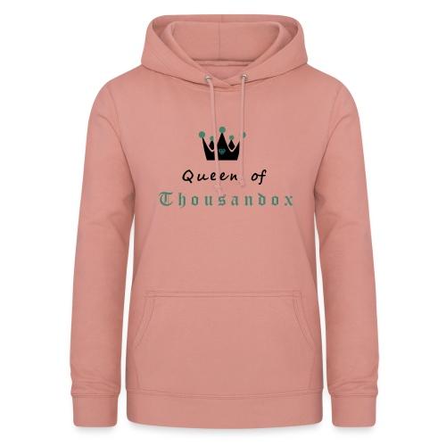 Queen of Thousandox Hoodi Coopercloth - Frauen Hoodie