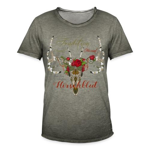Trachtenshirt - Männer Vintage T-Shirt