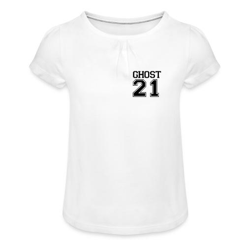 Ghost 21 Girl's T-Shirt with Ruffles - Girl's T-Shirt with Ruffles