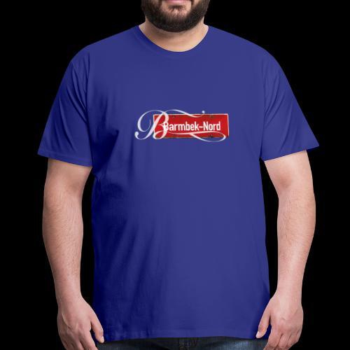 Mein Hamburg, mein Barmbek-Nord, mein Kiezshirt - Männer Premium T-Shirt
