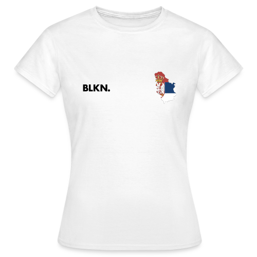 BLKN. x MAP (Serbia) - Women's T-Shirt