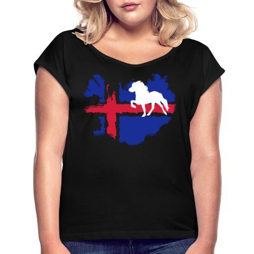 Isi-Love CLASSIC 2 - Frauen T-Shirt mit gerollten Ärmeln