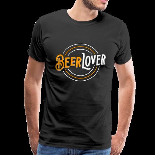 Beerlover Bier Liebe Leidenschaft - Männer Premium T-Shirt