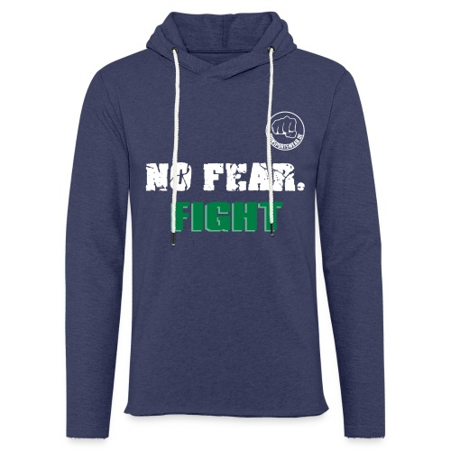 NO FEAR - FIGHT - Leichtes Kapuzensweatshirt Unisex