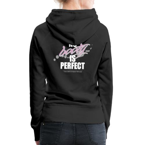 No booty is perfect - Frauen Premium Hoodie