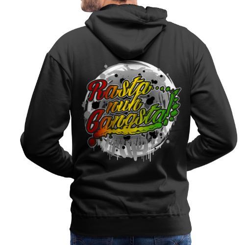 Rasta nuh Gangsta - Männer Premium Hoodie