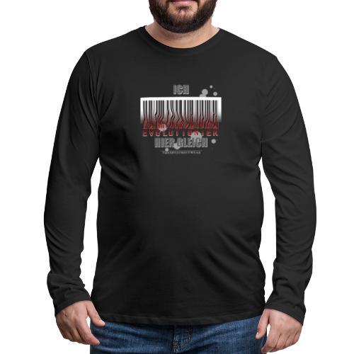 Ich evolutioniere - Männer Premium Langarmshirt