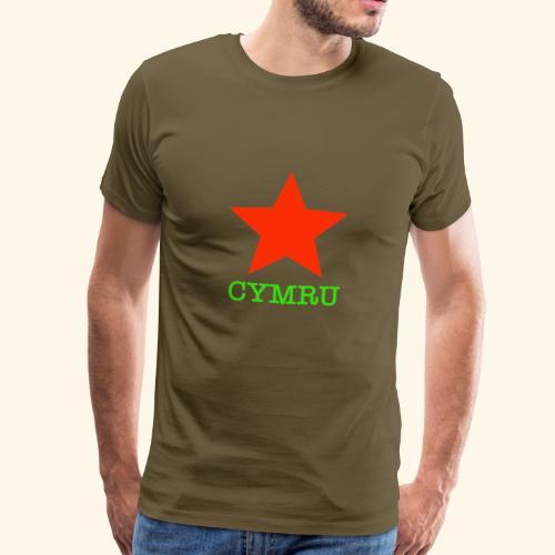 Seren Cymru - Men's Premium T-Shirt