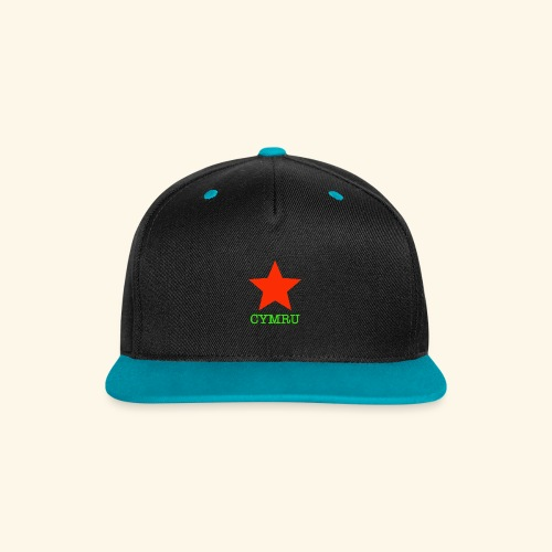 Seren Baseball Cap - Contrast Snapback Cap