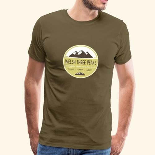 Welsh Three Peaks Challenge - Men's Premium T-Shirt