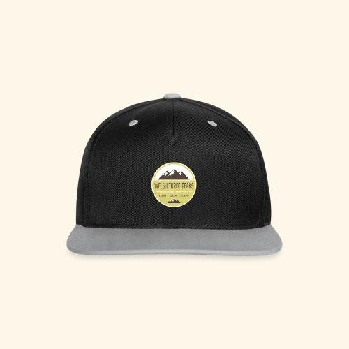Welsh Three Peaks Cap - Contrast Snapback Cap