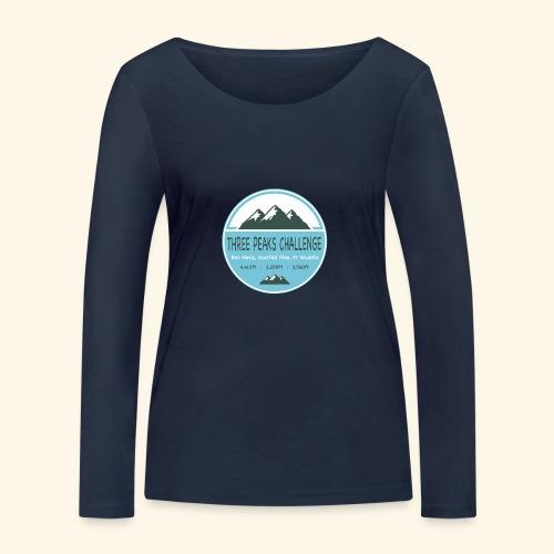Three Peaks Challenge - Women's Organic Longsleeve Shirt by Stanley & Stella