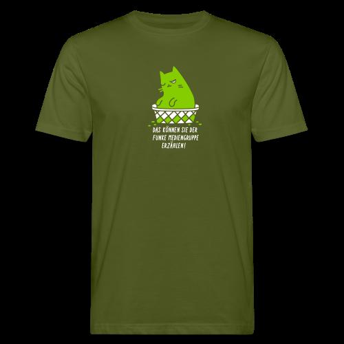 Das können Sie der Funke Mediengruppe erzählen! - Männer Bio-T-Shirt