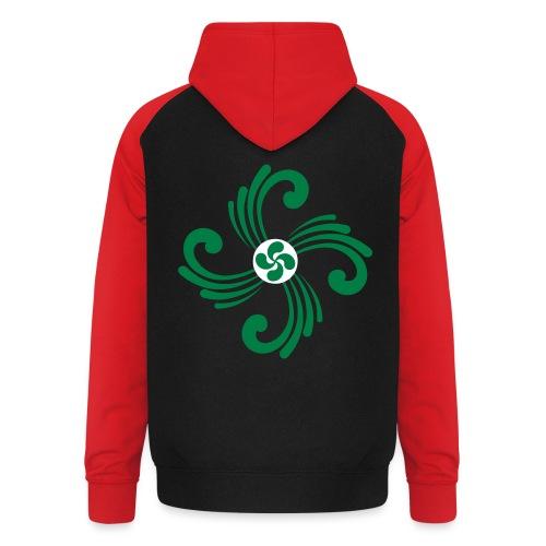 Croix Basque - Sweat-shirt baseball unisexe