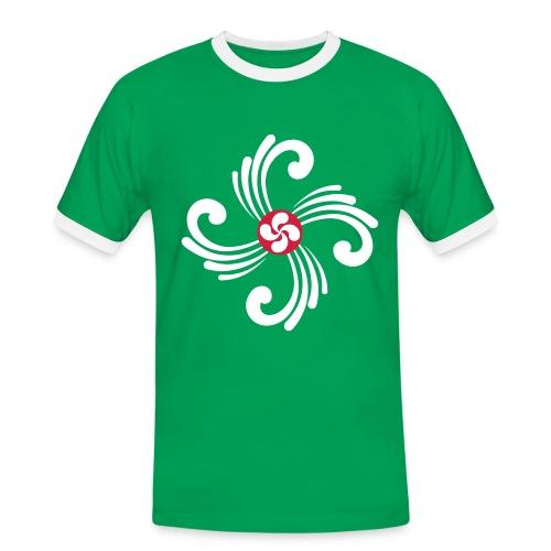 Croix Basque - T-shirt contrasté Homme