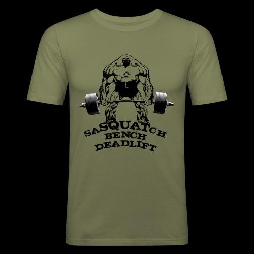 saSQUATch - Men's Slim Fit T-Shirt