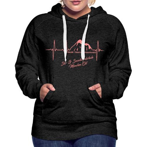 Herzschlag Hoodie w - Frauen Premium Hoodie