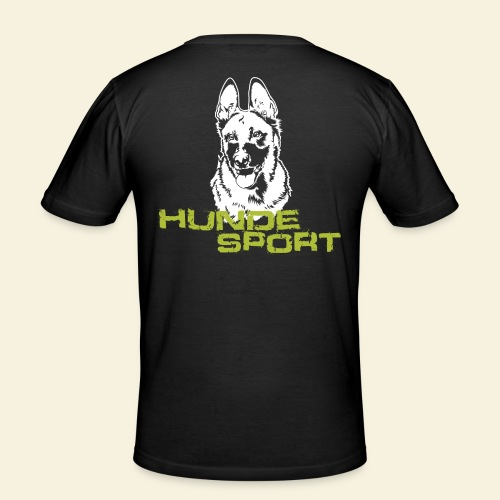 Hundesport-Malinois - Männer Slim Fit T-Shirt