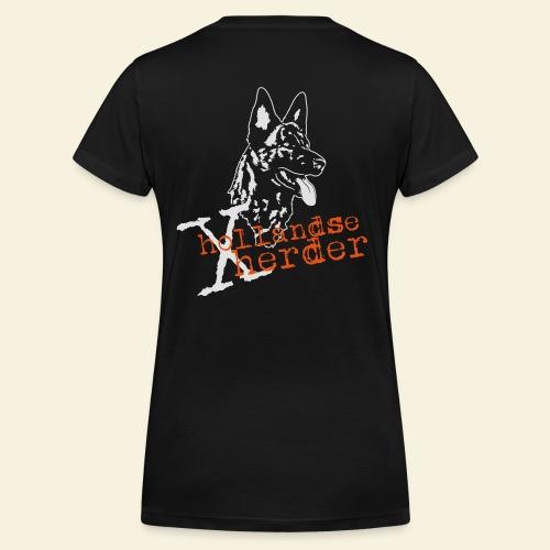 X-Hollandse Herder - Frauen Bio-T-Shirt mit V-Ausschnitt von Stanley & Stella