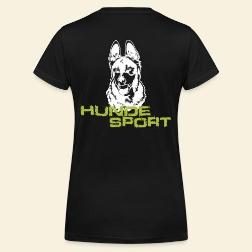 Hundesport-Malinois - Frauen Bio-T-Shirt mit V-Ausschnitt von Stanley & Stella