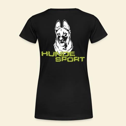 Hundesport-Malinois - Frauen Premium T-Shirt